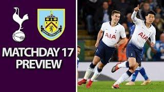 Tottenham v. Burnley   PREMIER LEAGUE MATCH PREVIEW   12/15/18   NBC Sports