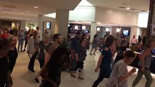 Ex's and Oh's Line Dance by Amy Glass Flash mob @2018 NWLD