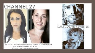 Kurt Cobain Revisited and Live Readings with Heidi and Jenny Moonstone