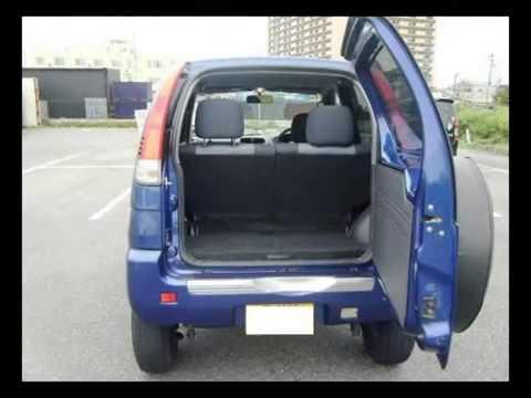 Video Daihatsu Terios ~ 2003 DAIHATSU TERIOS KID Y103