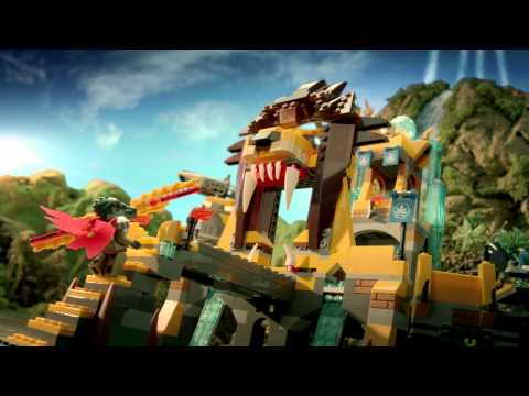 2013 X'mas Top 15 Toys - LEGO Chima Play 70010 金獅神廟 The Lion CHI Temple
