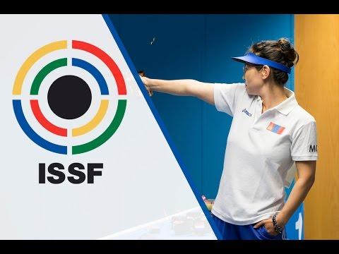 Finals 25m Pistol Women, ISSF World Championship 2014