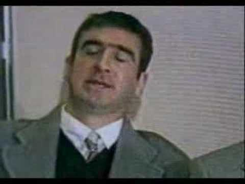 Eric Cantona Post-Kung Fu Kick Press Conference Video