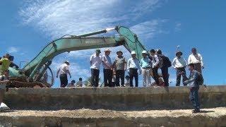 Đoàn công tác Trung ương kiểm tra công tác phòng, chống bão lũ tại Quảng Nam