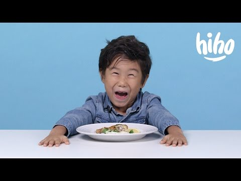 French Food | American Kids Try Food from Around the World | Ep 5