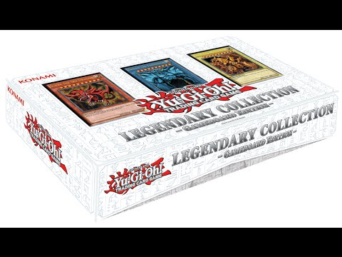 Yugioh Legendary Collection 1 Gameboard Edition Opening! With God Cards Inside!!! video