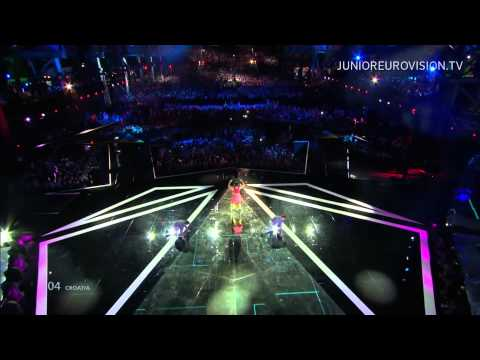 Josie - Game over (Croatia) LIVE Junior Eurovision Song Contest 2014
