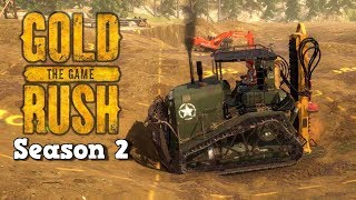 Drilling for Riches! - Gold Rush Gameplay - Gold Rush The Game - Season 2