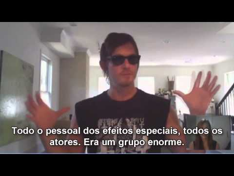 The Walking Dead Brasil Entrevista - Norman Reedus (Daryl Dixon)
