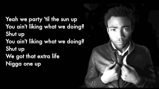 Watch Childish Gambino One Up video