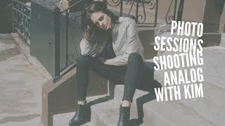 Photo Sessions - Shooting Analog w Kim   Canon Canonet QL19 GIII   Kodak Portra 400