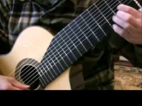 Air on G string BWV 1068 by J.S. Bach on 11-string altoguitar