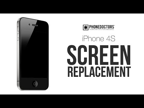 iPhone 4S LCD Screen Repair GSM CDMA for AT&T, Sprint and Verizon