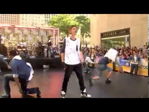 Justin Bieber - All Around The World Live On Today Show.mp4