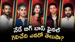 Bigg Boss Telugu Grand Finale Today Who Is The Winner