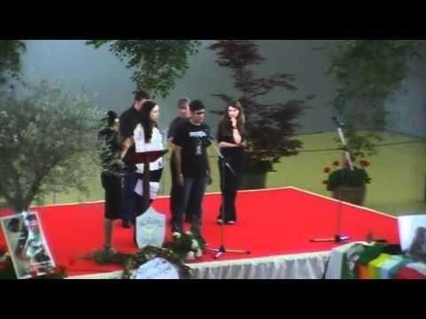 (1/2) Free Gaza Movement & the ISM at Vittorio Arrigoni's funeral in Bulciago, april 24 2011 .wmv