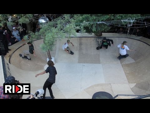 Non-Serious Skateboard Bowl Contest - Bright TradeShow 2015