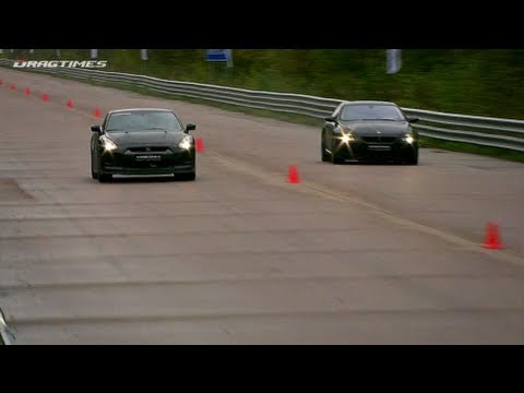 Nissan GT-R vs BMW M6 ASR; Audi RS6 Evotech vs RS6 Sportec SPR 800; Audi RS6 MC Chip vs Evotech;