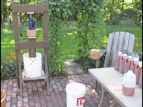Whizbang Cider: Part 2—Pressing The Apple Mash