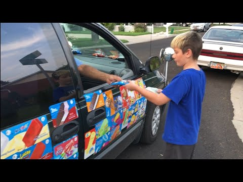 Kid Temper Tantrum Ice Cream Truck As Leland Ruins Daddy's ice cream sandwich [ Original ]