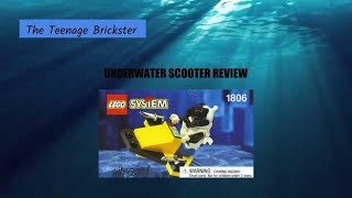 Lego 1806/1749 Underwater Scooter Review!