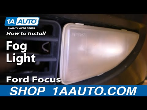 How To Replace Repair Install Fog Light on Ford Focus 00-04 1AAuto.com