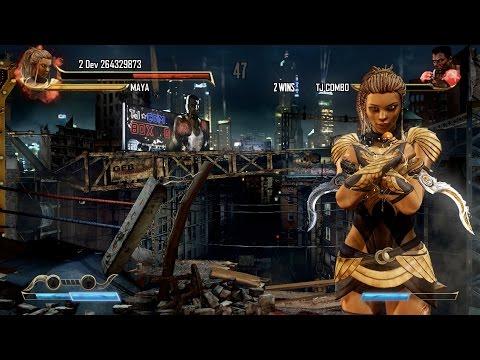 Killer Instinct: Maya Does a Stage Ultra