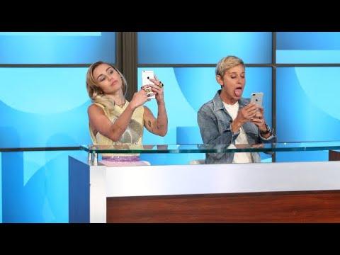 Miley Cyrus Schools Ellen on Millennials