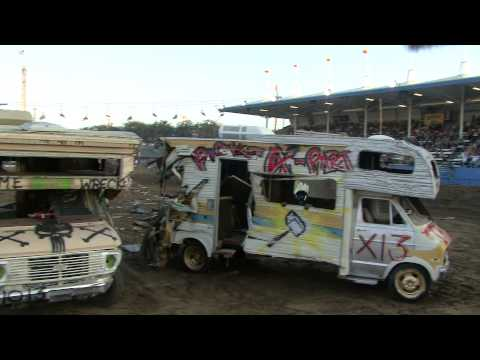 Motor Home Demolition Derby - Costa Mesa CA. USA