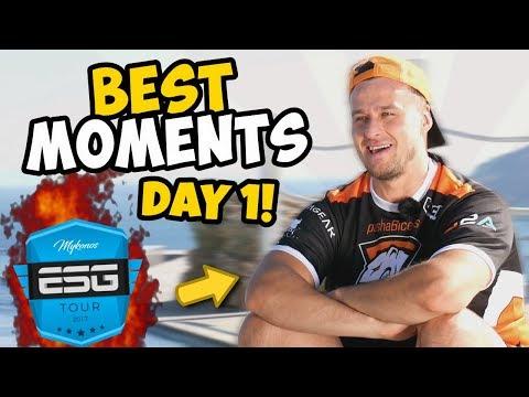 CS:GO TOURNAMENT IN A VILLA!? - ESG Mykonos 2017 - BEST OF Day 1