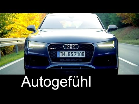 2016 new Audi RS7 Sportback Performance Sound Exterior Interior Preview - Autogefühl