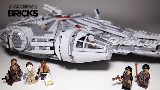 Lego Star Wars 75105 Millennium Falcon Speed Build