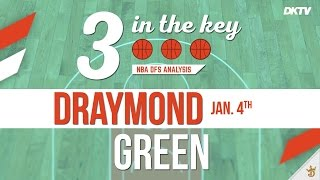 3 In The Key: Draymond Green - Swish Analytics