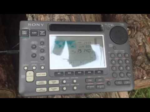 DXpedition in Oxfordshire: Radio Sultanate of Oman 15140 kHz armchair copy