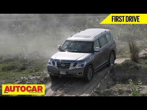 Nissan Patrol   First Drive Video Review   Autocar India