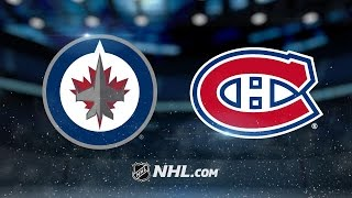Jets pull away for 3-1 win vs. Canadiens