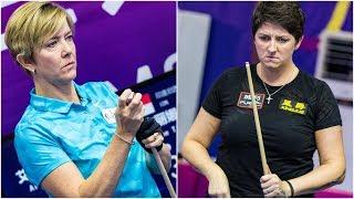 2018 Women 9-Ball World Championship 女子世錦賽│Allison Fisher vs Kelly Fisher
