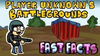PUBG FAST FACTS! | PlayerUnknown's Battlegrounds | LORE