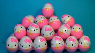 Bóc Trứng Đồ Chơi | Bóc Trứng Hello Kitty Cho Bé Yêu
