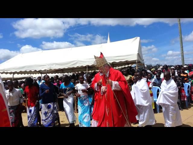Processional - Partnership Mass at Museve, Kenya