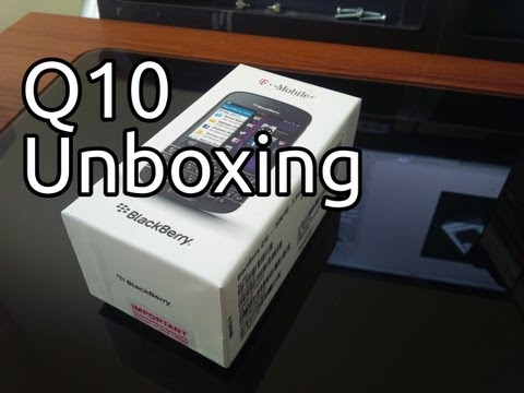 T-Mobile Blackberry Q10 Unboxing