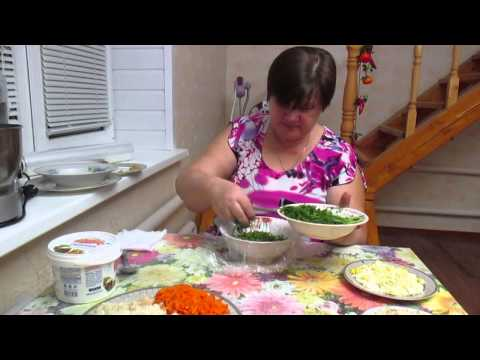 """Чудо-салат, чудо-рецепт! """"Грибная поляна""""."""