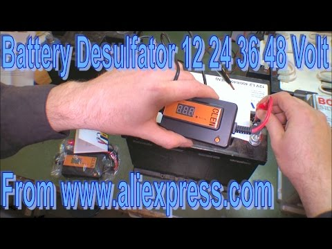 Two new Battery Desulfators 12 24 36 48 Volt - 170