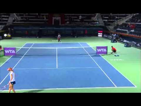 Serena Williams vs. Ekaterina Makarova | Full Highlights | Dubai Tennis Championships 2014