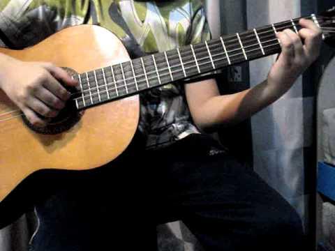 Виртуозная игра на испанской гитаре.Часть 13.Мурка