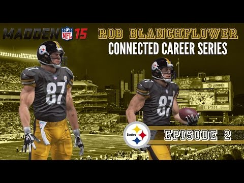 Madden 15 (Xbox One): Rob Blanchflower (TE) Connected Career - EP2