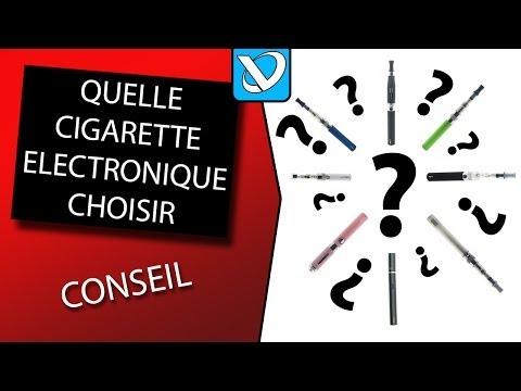 Quelle cigarette électronique choisir !