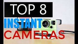 Top 8 Best Instant Cameras You Should Buy in 2017