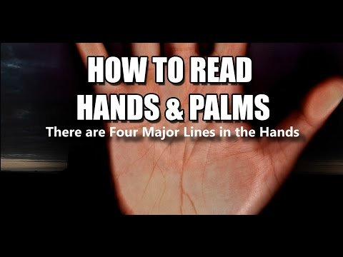 HOW TO READ HANDS & PALMS #1 BASIC LINES