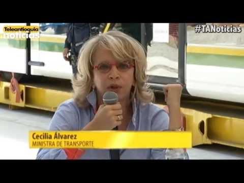 El primer vehículo del Tranvía de Ayacucho ya está en Medellín